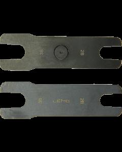 LEMO spanner set for 3K93.C FMW and PEW connectors