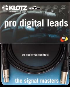 pro digital leads AES & DMX cable with XLR 3p. by KLOTZ or Neutrik