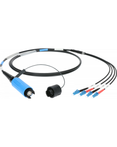 FiberLink SmartBeam QUAD to 4x LC single-mode breakout cable