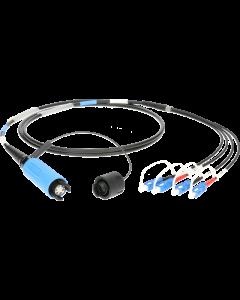 FiberLink SmartBeam QUAD to 4x SC single-mode breakout cable