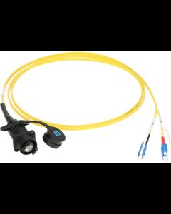FiberLink SmartBeam DUO to 2x SC single-mode installation adapter