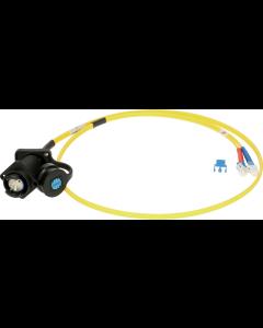 FiberLink SmartBeam DUO to 2x LC  single-mode installation adapter