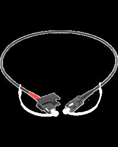 highly flexible multimode fiber optic simplex patch cable: SC/PC - SC/PC