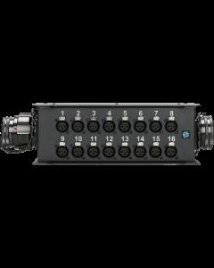 TrussLink 16 channels - 16/0 XLR + 2x RMP M/F - single ground
