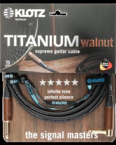 TITANIUM walnut